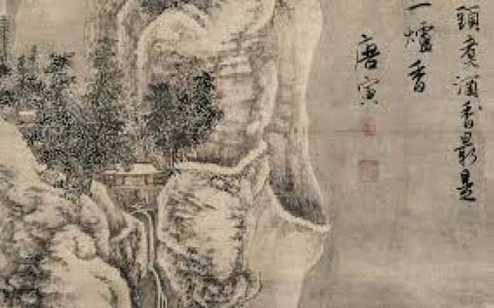 唐寅体现冬的代表作品《柴门掩雪图》(网络)
