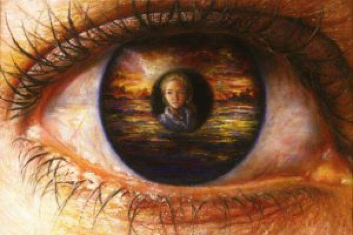 【13岁作品(2)】Infinite Perspective(无限的视野),2008年(Akiane Kramarik)