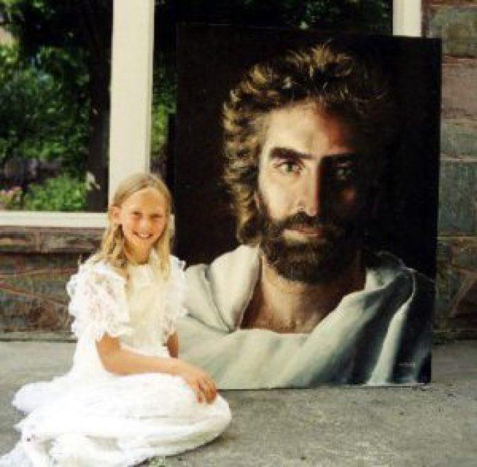 想要找一个像梦中所见的耶稣面容的模特儿,就是找不到