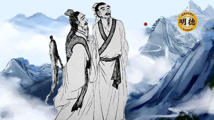 袁天罡和李淳风是隋朝末年的修道之人(明德合成)