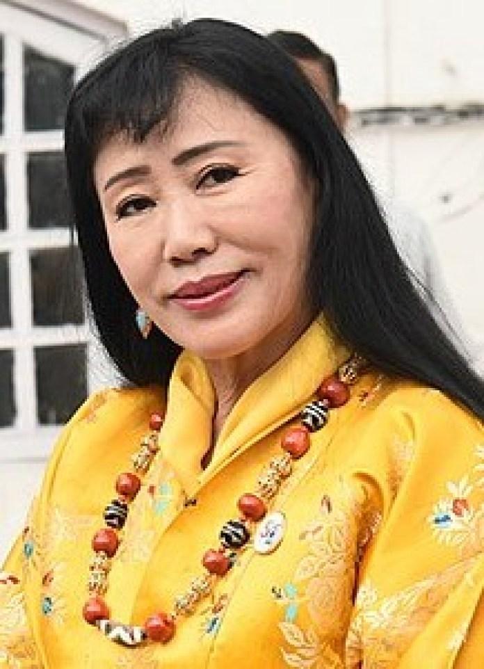 丹王太后是美丽大方的多杰‧旺姆‧旺楚克(公有领域/Vice)