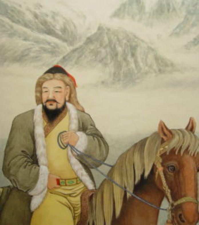 蒙古王成吉思汗(王雙寬製圖/大紀元)