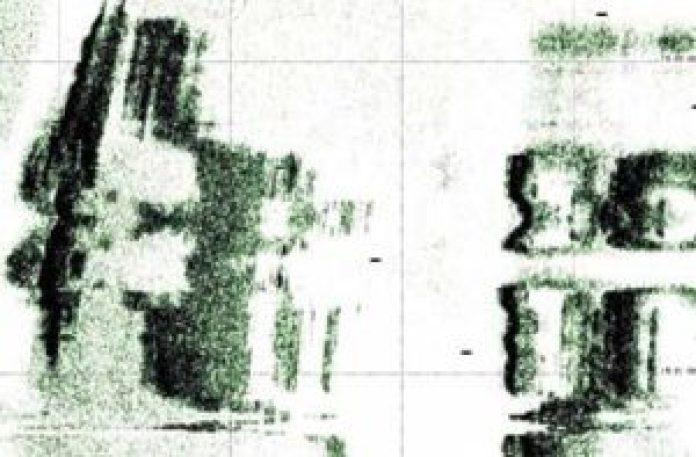 图13:由精密的声纳绘制的部分区域(明慧网)