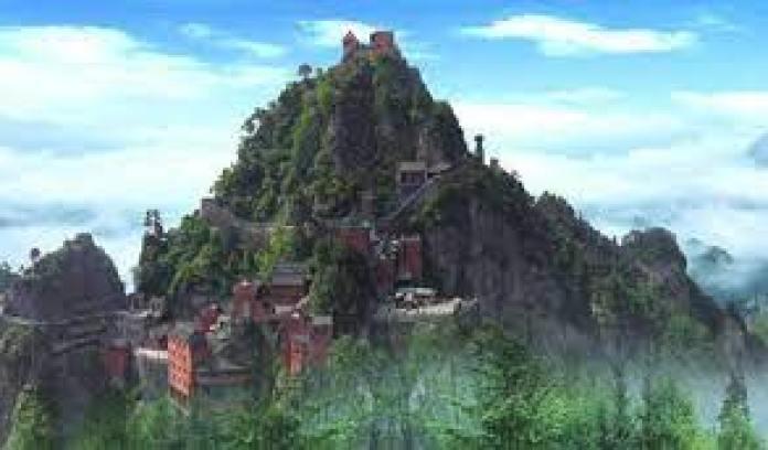 """今天众人所知的武当山,又名""""太和山""""(fb)"""