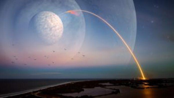 也就是将近1.5年的时间才能走完月球的周长(pixabay)