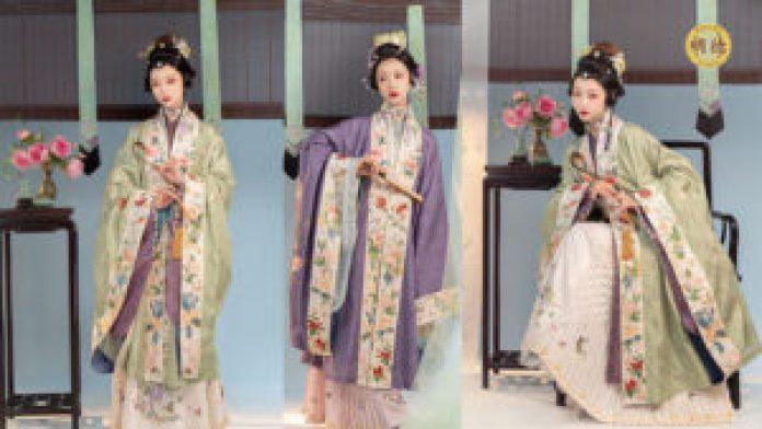 明朝服装通常被历史学家描述为既华丽又优雅(明德合成)