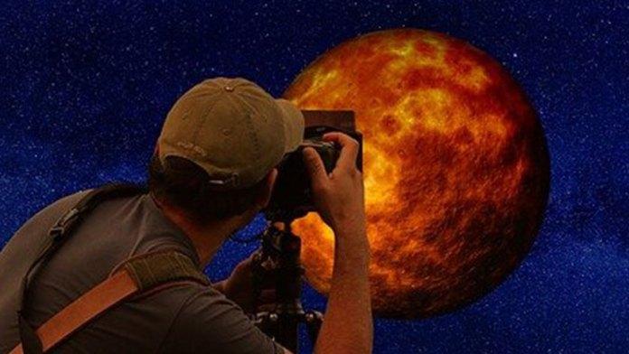 「超級血月」(pixabay)