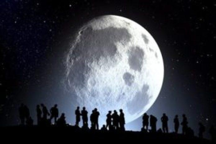月亮示意圖(pixabay.)