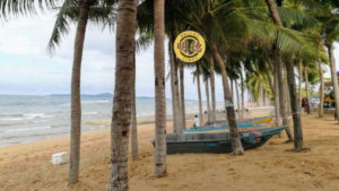 芭提雅: 中天海滩.世界有名的景点21年 6月1号开业了