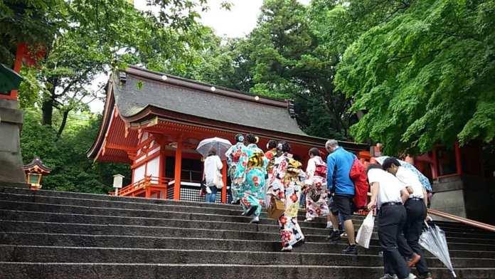 京都伏田稻荷景點入口