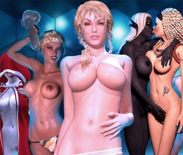 Virtual 3d Girls In Interactive Fantasy Nude 3d Games