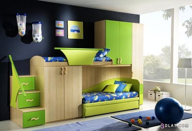 غرف نوم اطفال مودرن 2020 اجمل غرف نوم اطفال للمساحات