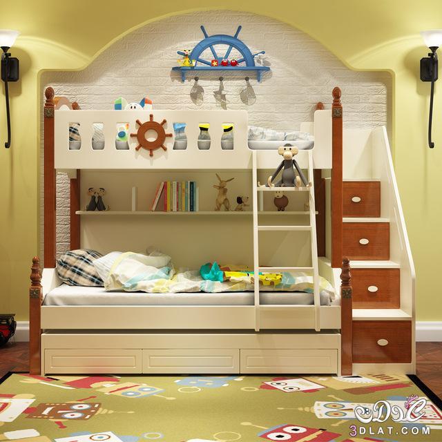 غرف نوم أطفال 2020 أجمل غرف نوم أطفال دورين غرف نوم أطفال بسريرين