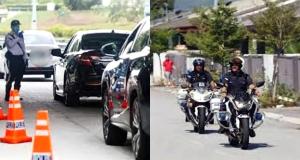 polis buat rondaan hari raya
