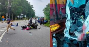 kemalangan di Tol Behrang