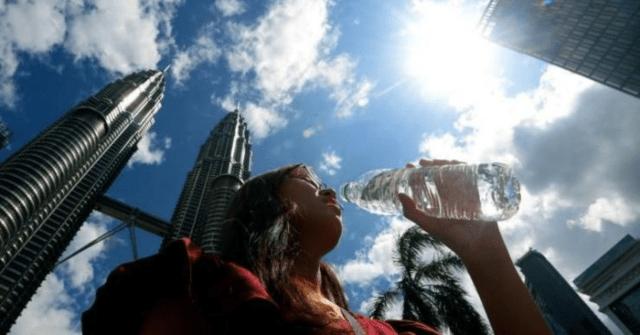 Cuaca panas di Malaysia