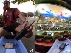 Netizen Kagum Lelaki Ini Beli Makanan Guna 'Remote Control'