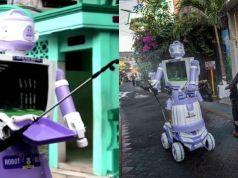 robot delta bantu penduduk kampung
