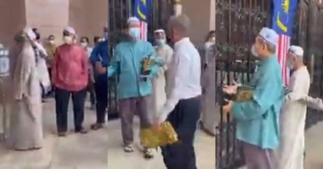 vip masuk masjid