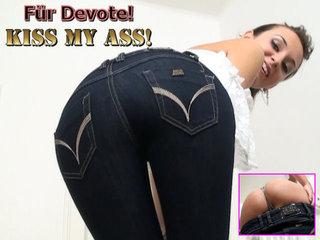 DirtyAnja - Für Devote: Kiss my Ass