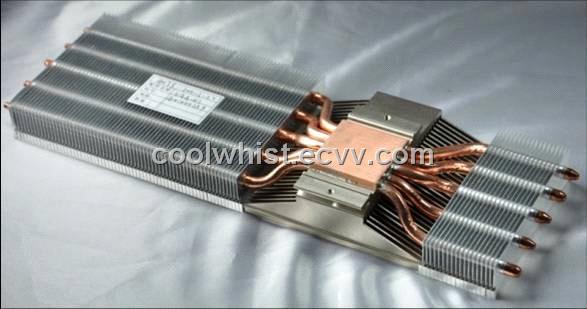 led aluminum heatsink with heatpipe