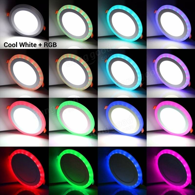 new rgbw 3 models led panel light with