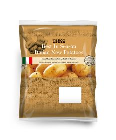 Branston's Italian spuds return to Tesco