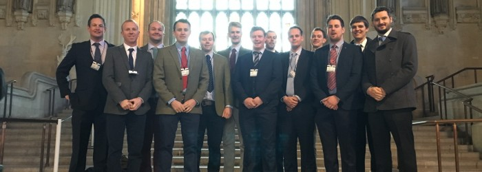 Next gen potato growers visit Westminster