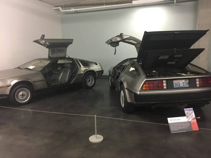 DeLoreans at the LeMay Automobile Museum - America.