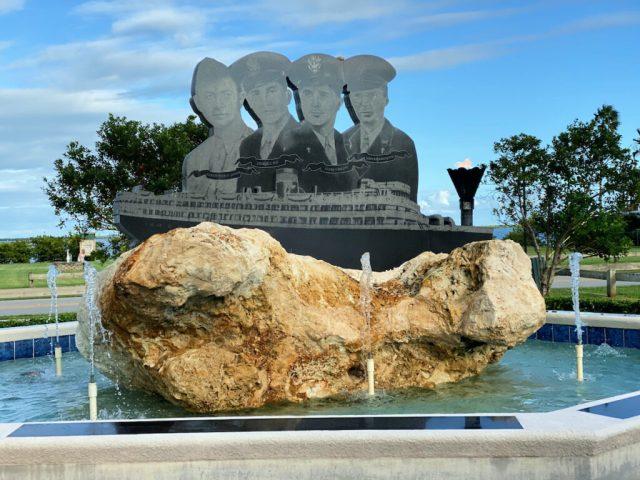 Memorial in Sebastian.