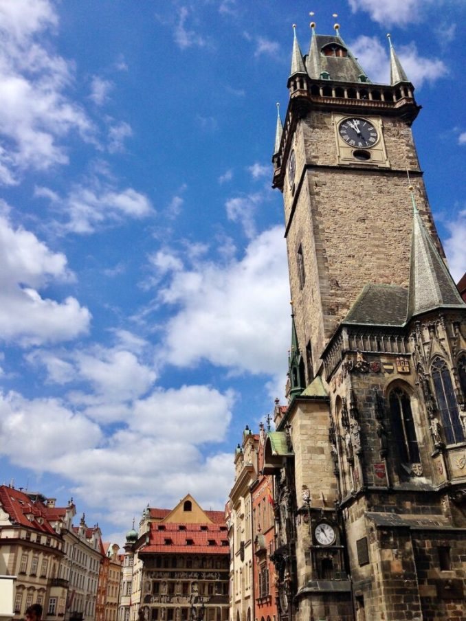 Old Town Hall Tower in Prague.