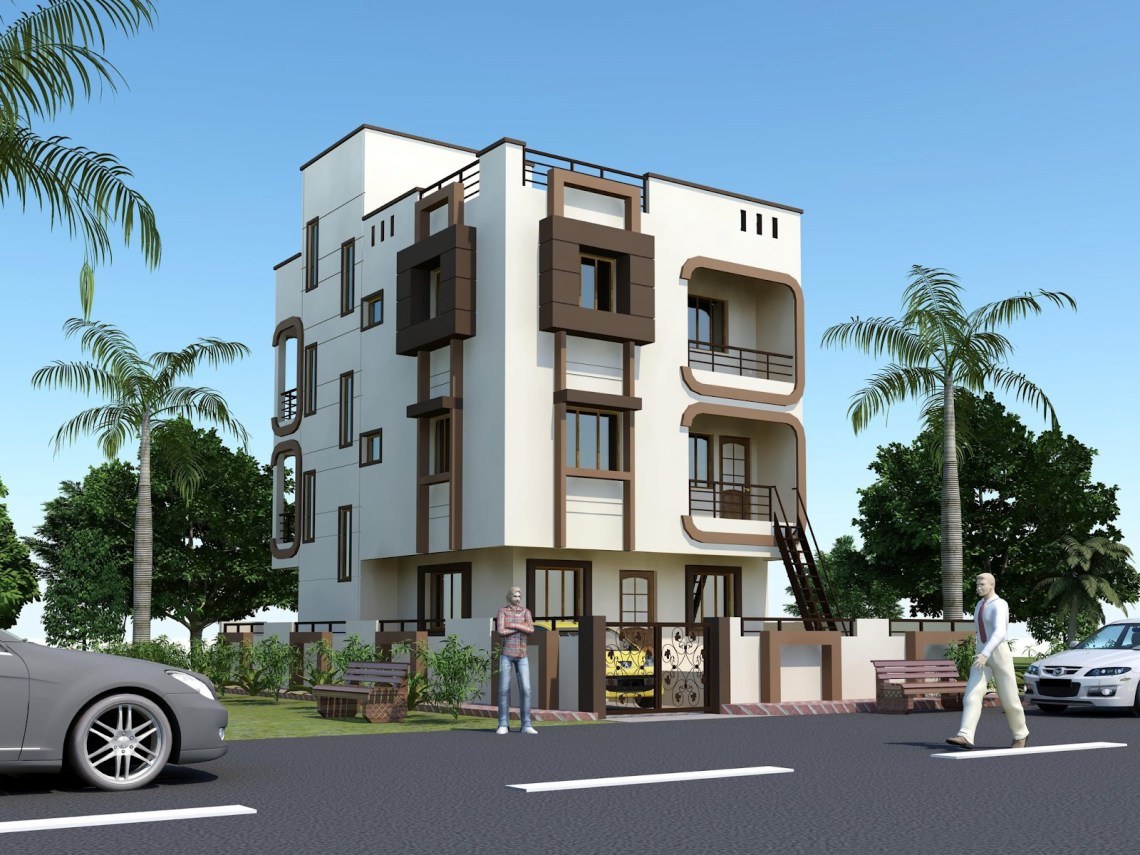 Beautiful Houses Elevations India Front Elevation Indian ...
