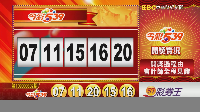 💰今彩539中獎號碼💰第109000302期 民國109年12月17日 《#今彩539 #樂透彩開獎號碼》