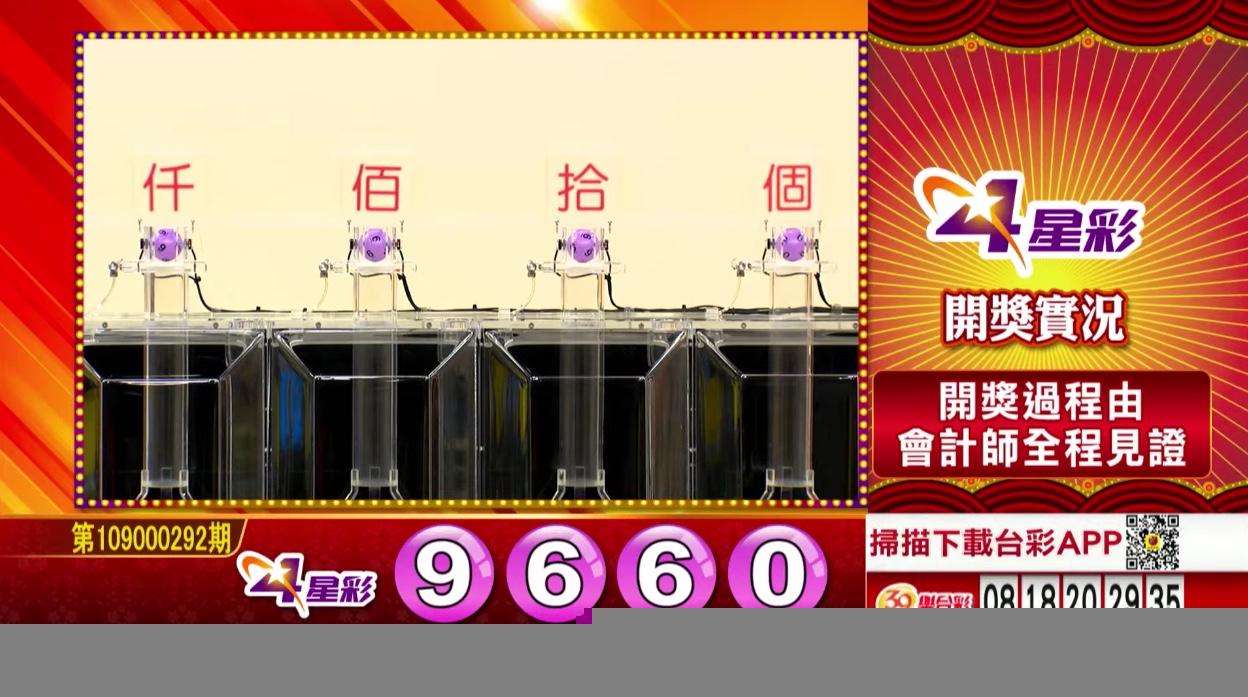 💰4星彩開獎號碼💰第109000292期 民國109年12月5日 《#4星彩 #樂透彩中獎號碼》