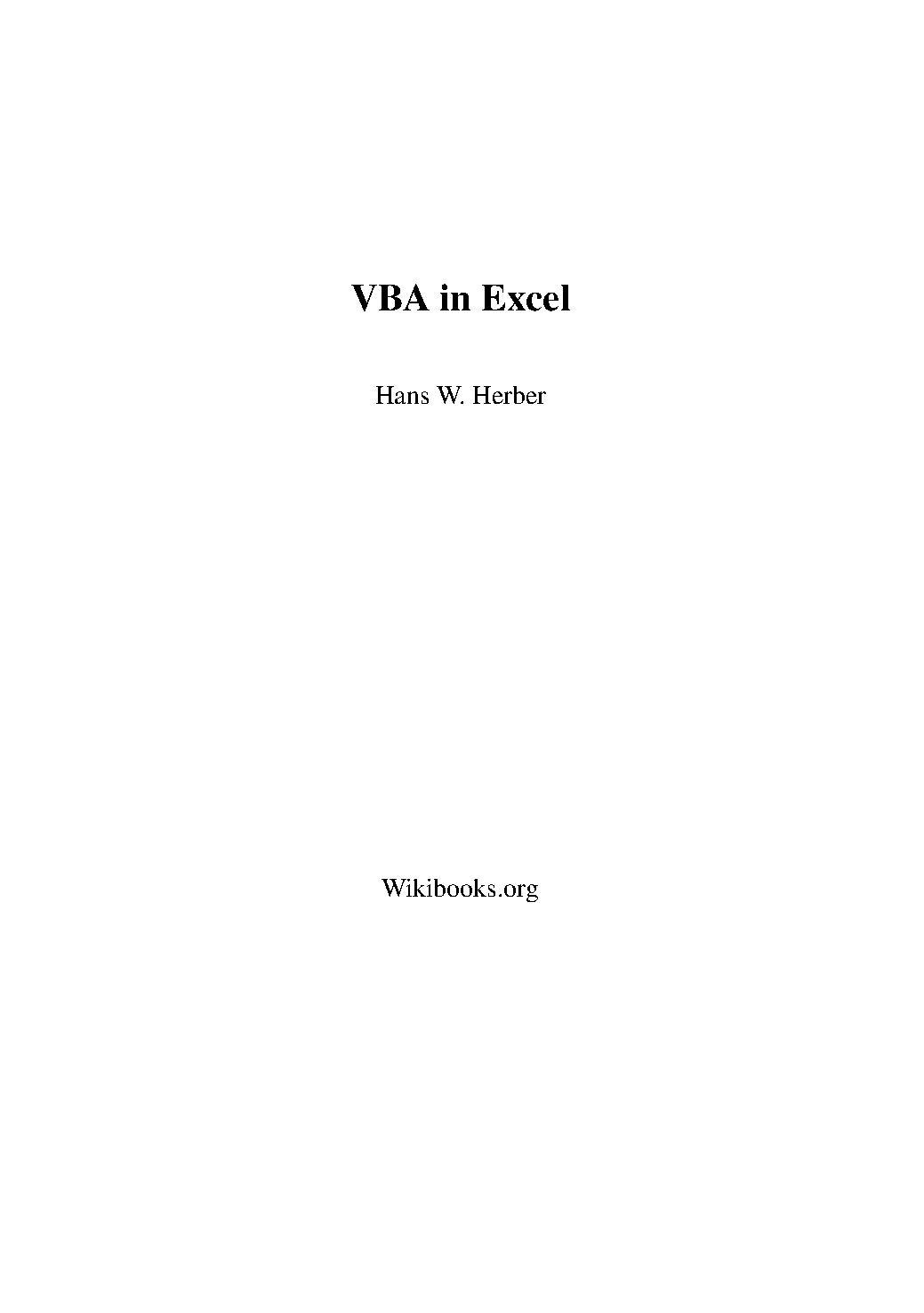 Excel Vba Drucken Creator