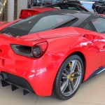 File 2017 Ferrari 488 Gtb Automatic 3 9 Rear Jpg Wikimedia Commons