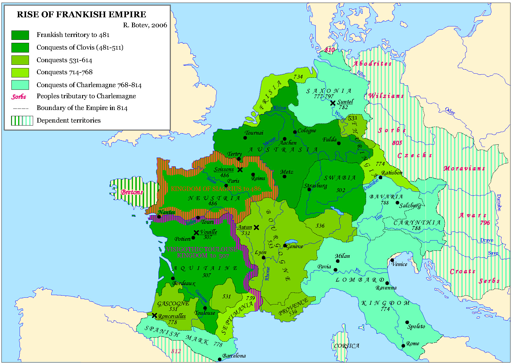 Frankish empire