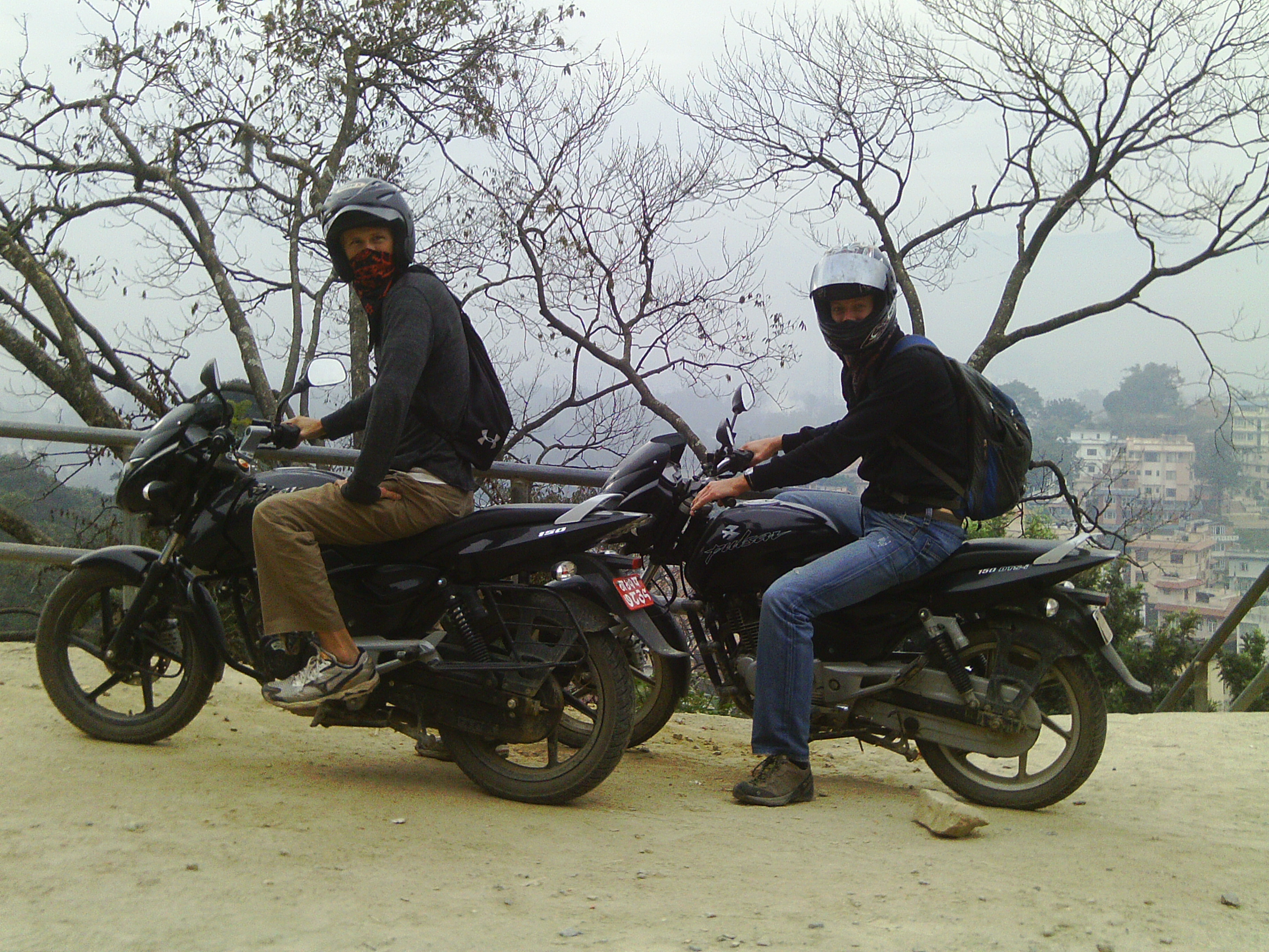 Friends on motorcycles.JPG