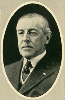 President Woodrow Wilson, the man with whom th...