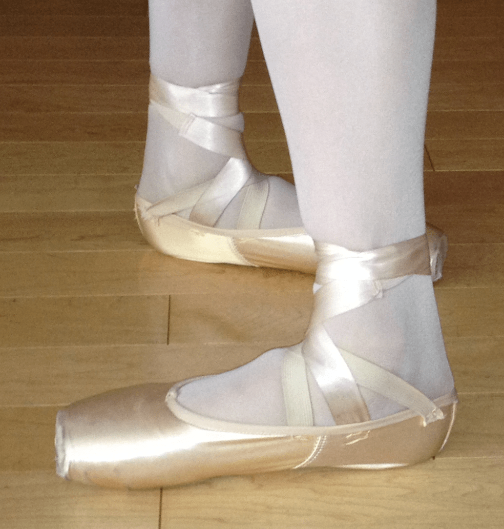 File Ballet Feet Closed 4th Position
