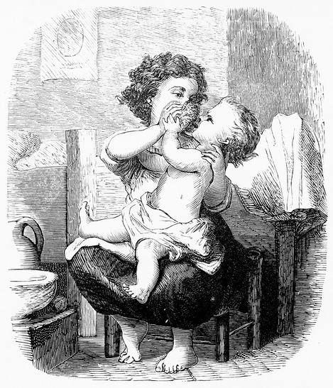 File:Bathing the Baby.jpg