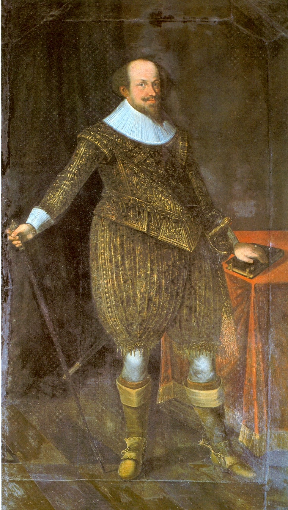 hertog Johan Frederik van Württemberg 1582 –1628.