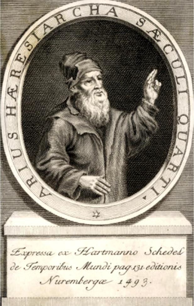 Magyar: Arius (Areios) (260, Líbia - 336, Kons...