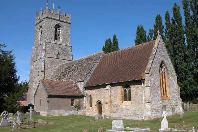 St Andrew's parish church, Cleeve Prior Church, Worcestershire,