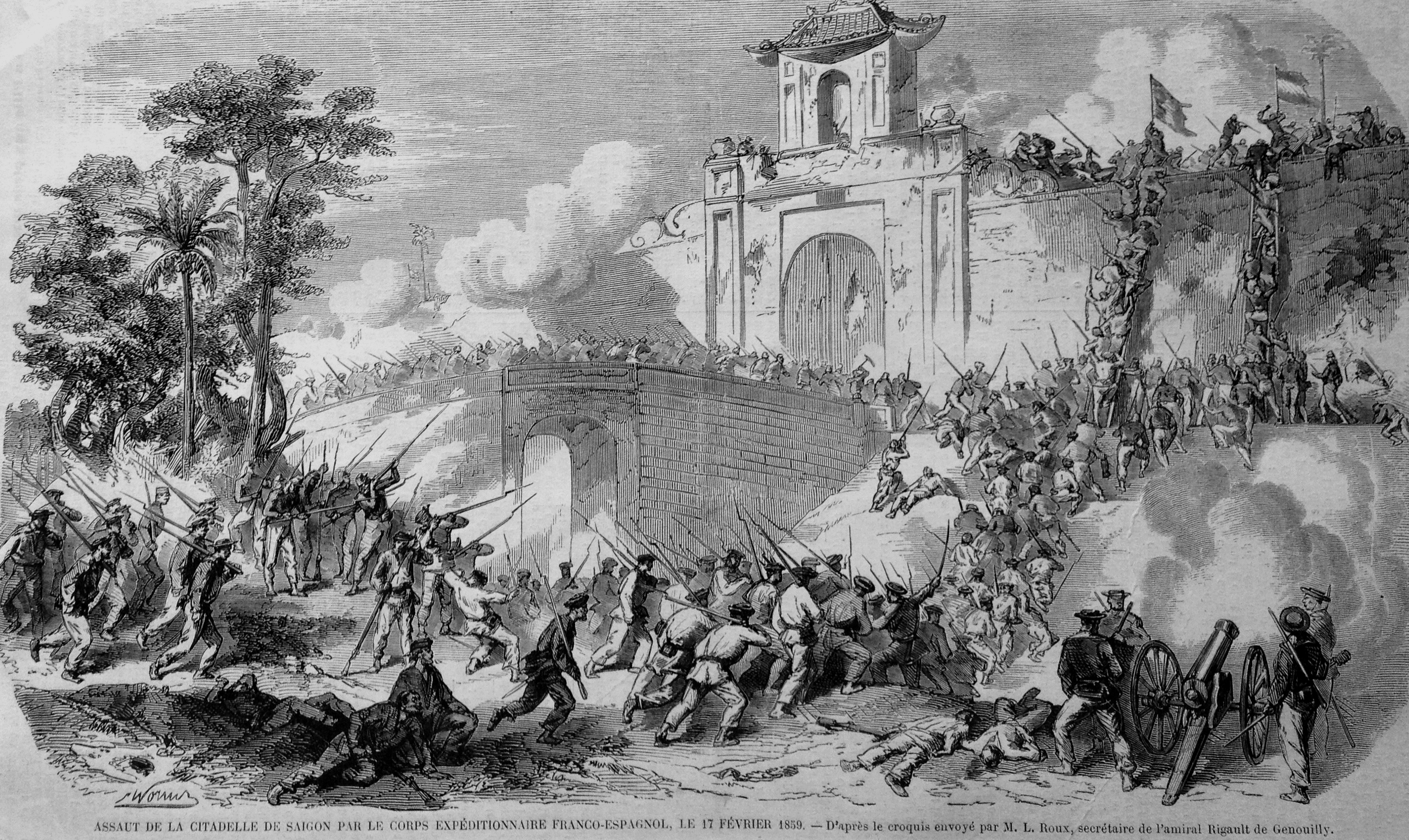 File:French capture of Saigon in 1859.jpg
