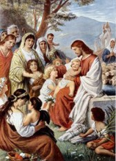 "The Painting entitled ""Jesus Blessing the..."