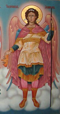 """Archangel Jehudiel (lit. """"Praise of God&q..."""