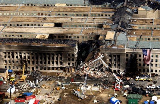 Image result for 9/11 Pentagon attacked