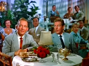 One of my favorite holiday films: Bing Crosby and Danny Kaye in White Christmas