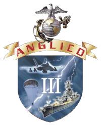 English: Unit logo for 3rd Air Naval Gunfire L...